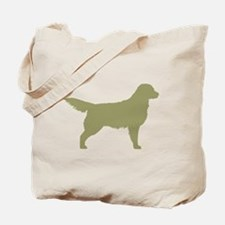 Sage Golden Retriever Tote Bag