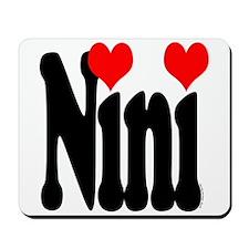 I love Nini Mousepad