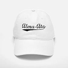 Vintage Alma-Ata (Black) Baseball Baseball Cap