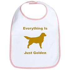 Just Golden Bib