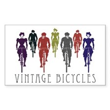 BICYCLE Rectangle Decal