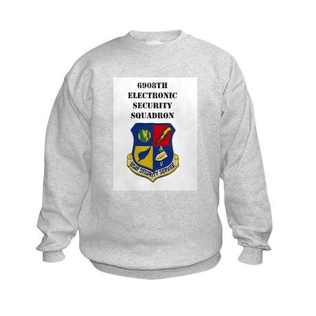 6908TH ELECTRONIC SECURITY SERVICE Kids Sweatshirt