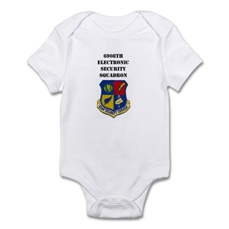 6908TH ELECTRONIC SECURITY SERVICE Infant Bodysuit