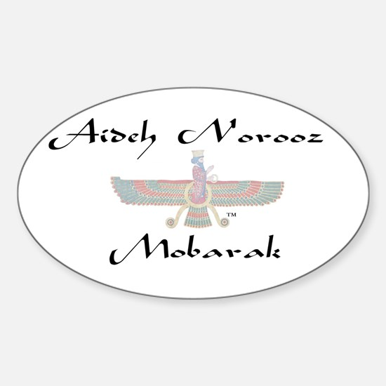 Aideh Norooz Oval Decal