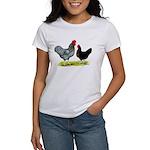 Black Sex-linked Chickens Women's T-Shirt