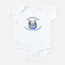 Bubbe's Hunny Bunny BOY Infant Bodysuit