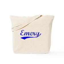 Vintage Emery (Blue) Tote Bag