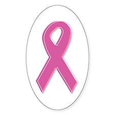 Pink Awareness Ribbon Decal