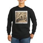 Forgotten Long Sleeve Dark T-Shirt