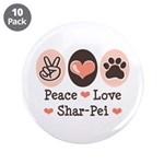 Peace Love Shar Pei 3.5