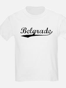 Vintage Belgrade (Black) T-Shirt