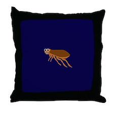 ETHAN FLEA Throw Pillow