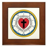 Lutheran reformation Framed Tiles