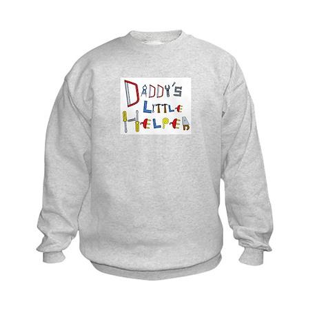 Daddy's Little Helper Kids Sweatshirt