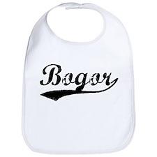 Vintage Bogor (Black) Bib