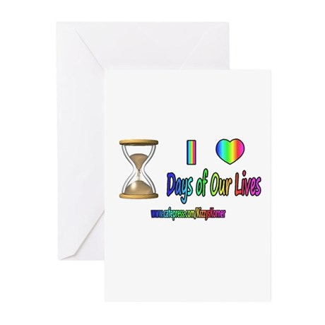 LOVE DAYS OF OUR LIVES Greeting Cards (Pk of 20)