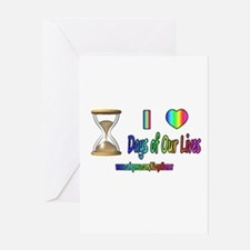 LOVE DAYS OF OUR LIVES Greeting Card