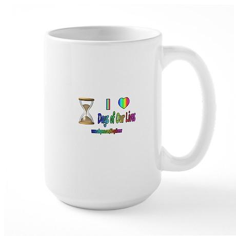 LOVE DAYS OF OUR LIVES Large Mug