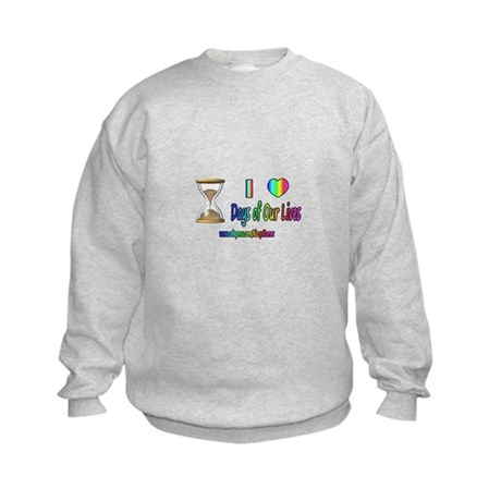 LOVE DAYS OF OUR LIVES Kids Sweatshirt