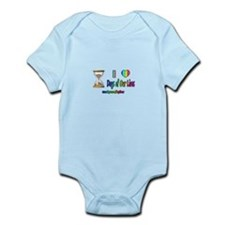 LOVE DAYS OF OUR LIVES Infant Bodysuit