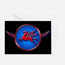 Flying Red Greeting Card