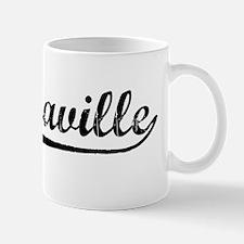 Vintage Brazzaville (Black) Mug