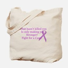 What hasn't killed you.. Tote Bag