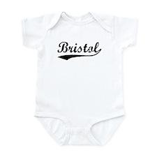 Vintage Bristol (Black) Infant Bodysuit