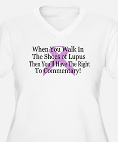 Walk in the shoes of Lupus T-Shirt