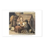 Faithful Friend Postcards (Package of 8)