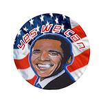 "Barack Obama for President 3.5"" Button (100 p"