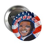 "Barack Obama for President 2.25"" Button"