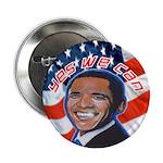 "Barack Obama for President 2.25"" Button (100"