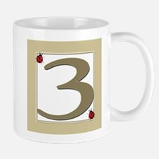Number 3 Mug