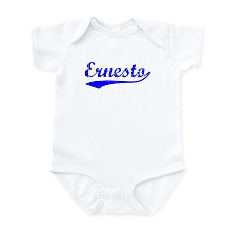 Vintage Ernesto (Blue) Infant Bodysuit