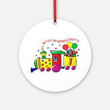 Birthday Express 1st Ornament (Round)