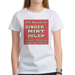 Old Mint Julep Sign Tee