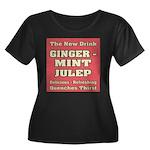 Old Mint Julep Sign Women's Plus Size Scoop Neck D
