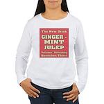 Old Mint Julep Sign Women's Long Sleeve T-Shirt