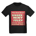 Old Mint Julep Sign Kids Dark T-Shirt