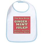 Old Mint Julep Sign Bib