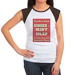 Old Mint Julep Sign Women's Cap Sleeve T-Shirt