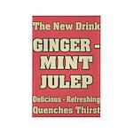 Old Mint Julep Sign Rectangle Magnet