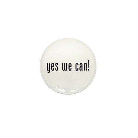 yes we can! Mini Button (100 pack)