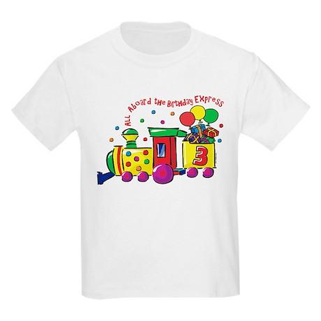Birthday Express 3rd Kids Light T-Shirt
