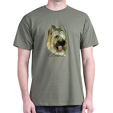 Briard Headstudy T-Shirt