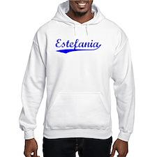 Vintage Estefania (Blue) Hoodie Sweatshirt