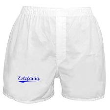 Vintage Estefania (Blue) Boxer Shorts