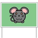 Gray Mousie Yard Sign