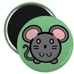 Gray Mousie Magnet